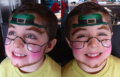 6 Super Cute St Patrick S Day Face Paint Ideas The Kids Will Love Magicmum Com