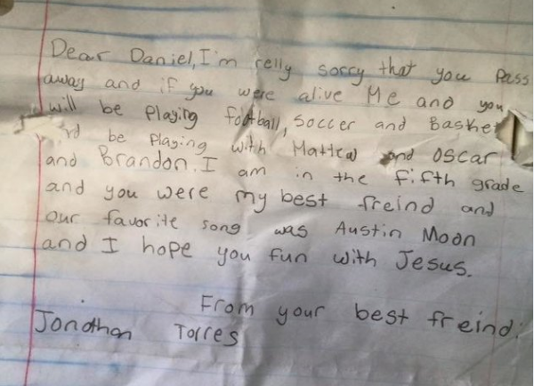 letter to my best friend who passed away you were my best friend boy s moving message in a 19596