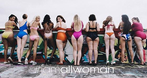 Big thighs, cellulite and SMILES. The body positivity message we ...