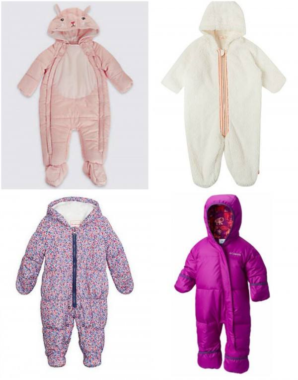 35c0098da Cute! 8 snug-as-a-bug snowsuits to see your tot through to spring ...