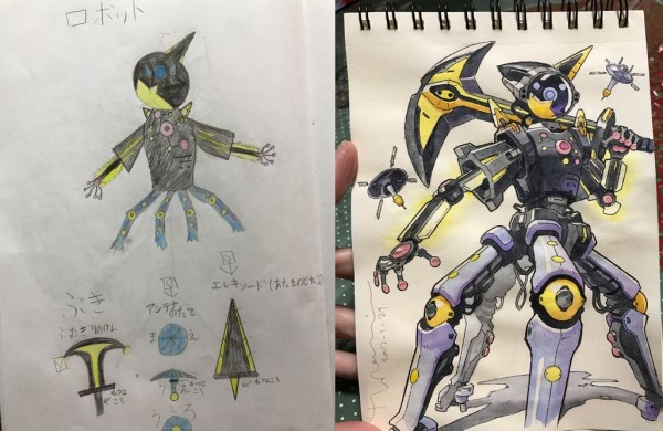 dad turns his kids drawings into characters and they re so cool
