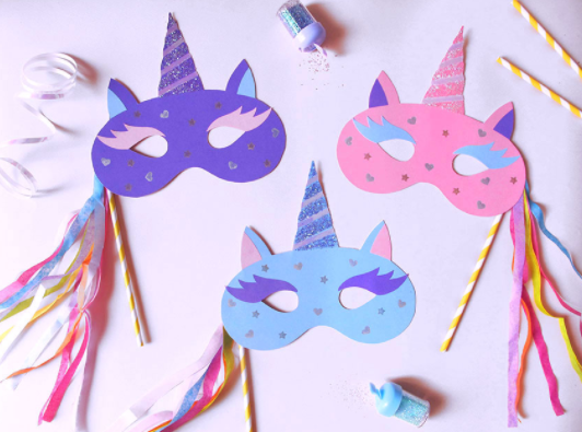 image about Printable Unicorn Mask referred to as Cunning Little ones: Hold them amused this summer months with People MAGICAL